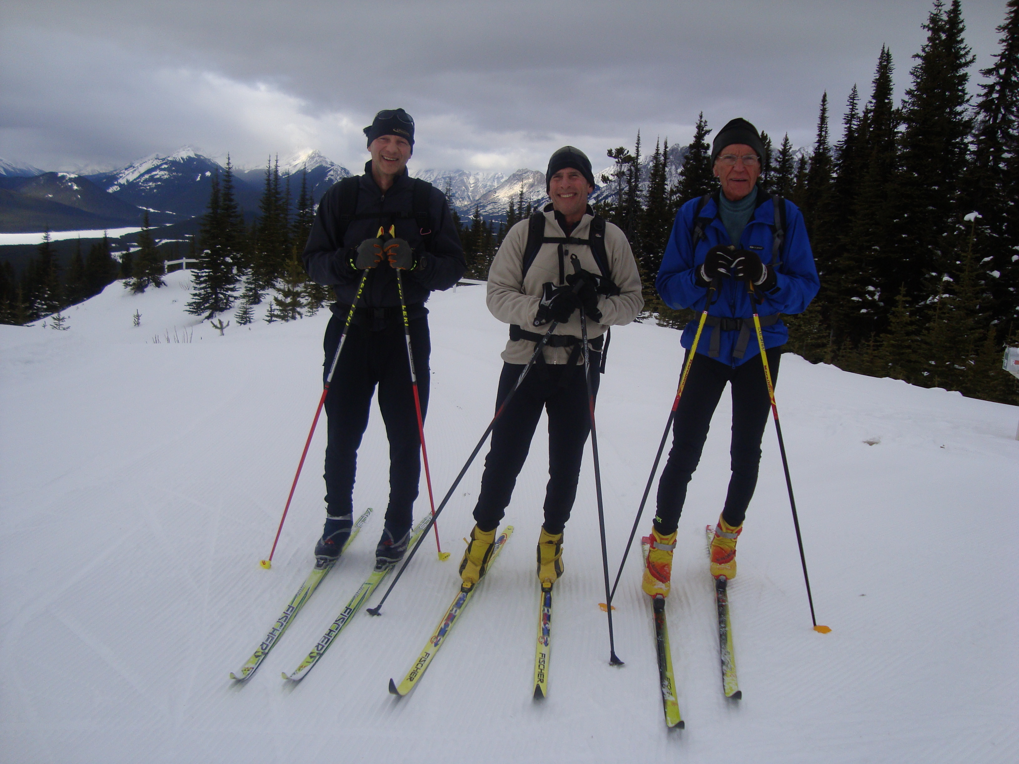 Bob, Chip and Vic at Kananaskis Fire Lookout