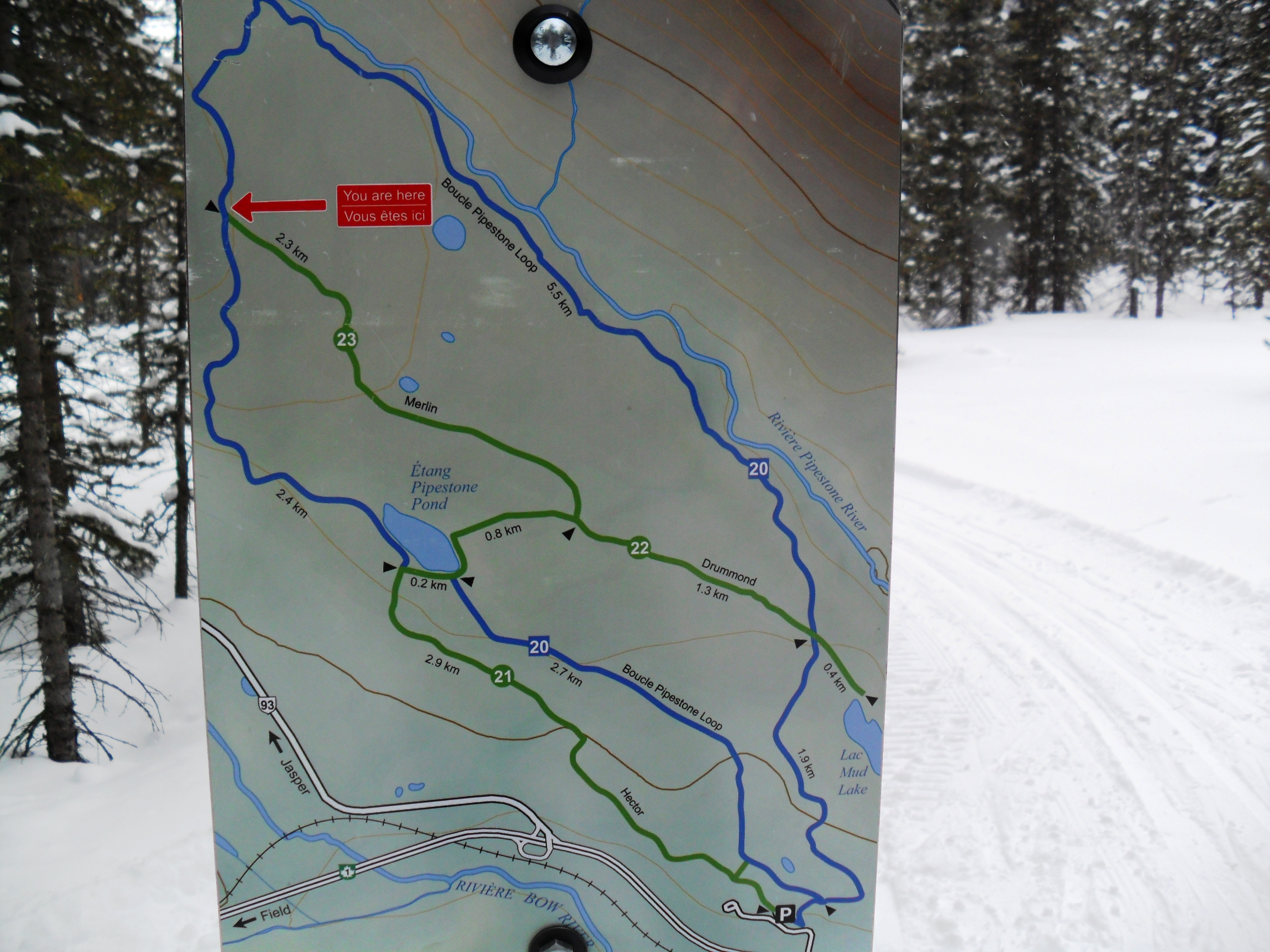Pipestone trails